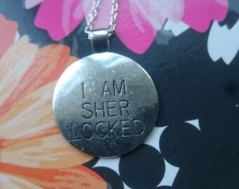 I Am Sher Locked Necklace