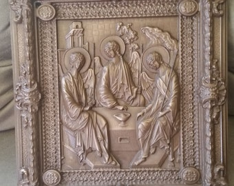 Bronze Cold Metal Casting Rublev's Trinity