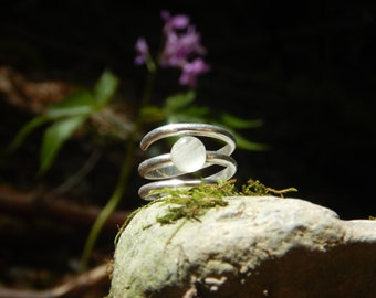 Ring Moonstone & 925 Silver