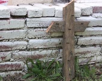 Rugged Surrender™ Cross- cross, wooden cross, religious gift, handmade cross, prayer, surrender cross, wall decor, gift, rugged cross