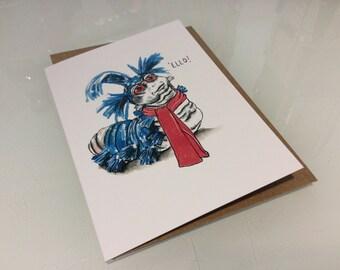 Worm card