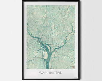 "Poster ""Washington"""