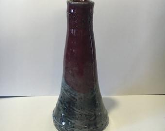 ceramic bud vase.