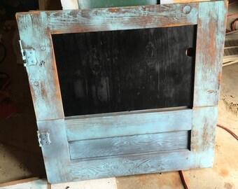 Chalkboard doorframe