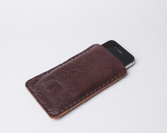 Apple iPhone 5 / 5s / 6 / 6s leather case