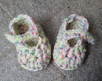Crochet Mary Janes for Babies/Toddlers