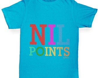 Boy's Nil Points T-Shirt