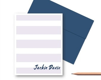 Personalized Stationery Set, Personalized Note Cards for Her, Personalized Thank You Note Cards, Personalized Stationary sets for Her