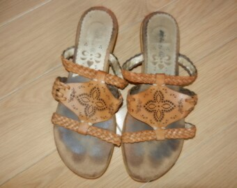 Sandals leather for women (gr. 7)