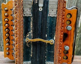 Vintage German Accordeon
