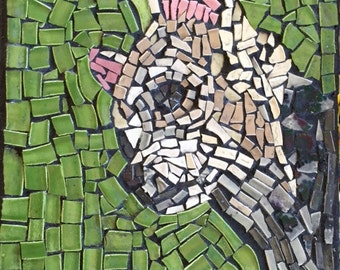 Custom Pet Portrait Mosaic