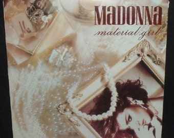 MATERIAL GIRL - Madonna with Picture Sleeve