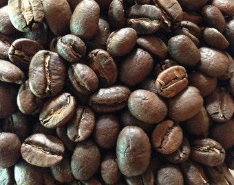 Fair trade, Organic, Colombia Hulia freshly roasted coffee. 7oz bag.