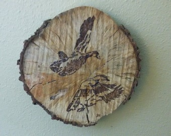duck wood burning