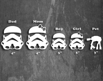 STORM TROOPER FAMILY - Multiple colors