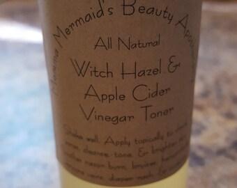 Witch Hazel & Apple Cider Vinegar Toner