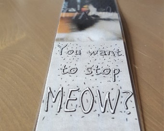 Kitten, Want to Stop? - Bookmark