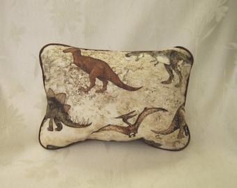 Dinosaur novelty pillow