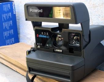 Polaroid ,Polaroid Close Up 636, Polaroid Camera,good  working condition, Vintage Camera, Retro Camera