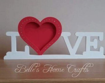 Home/Love photo frame