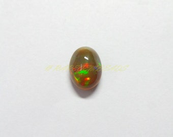 Natural Welo Ethiopian Black Opal Oval Cab, Ethiopian Opal Smooth Oval Cabochon, 13.5x10x7 MM Size, 1 Piece, Loose Gemstone Beads 138