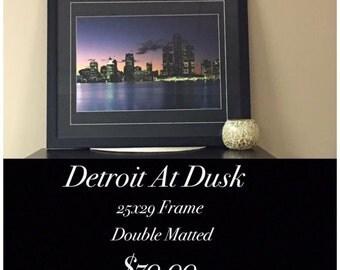 New Picture Detroit at Dusk