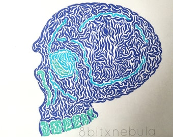 Lines In The Skull