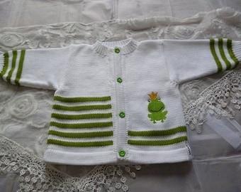 """Jacket, vest """"Frog King"""""""