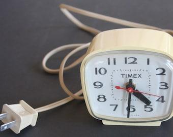 Timex Alarm Clock, Electric, Vintage