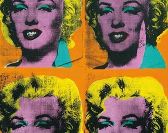 Andy Warhol - Marylin Monroe