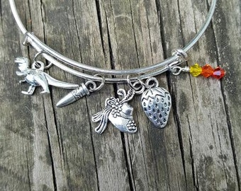 Firefly Inspired Charm Bracelet/ Firefly Serenity Jewelry