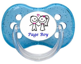UNIQUE Dummy Pacifier Soother, All Teats, Sizes & Colours, PAGE BOY 1