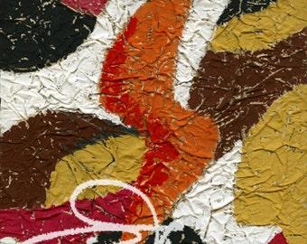 Claude's Art # 62G – Collection « Papiers Froissés »