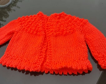 Knit baby sweaters.  So cute