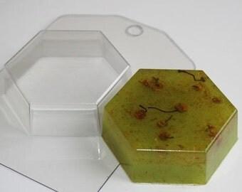 Hexahedron - plastic soap mold soap making soap mould molds soap mold