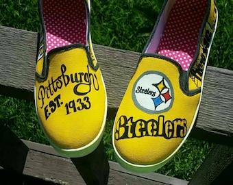 Pittsburgh Steelers Custom Shoe