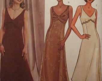 Pattern Butterick 3451 evening dress