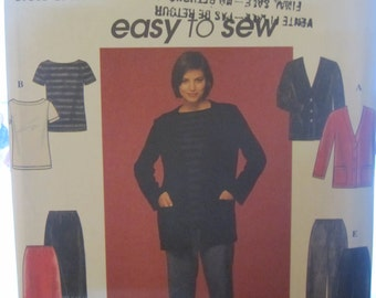 BOSS SIMPLICITY 8800 Easy to sew trousers-skirt-jacket-shirt for women
