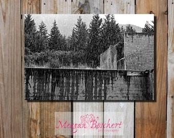 Benbow Downpour - Montana Photograph on Canvas