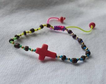 Her Faith Oil infused bracelet