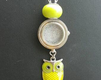 Yellow/green owl