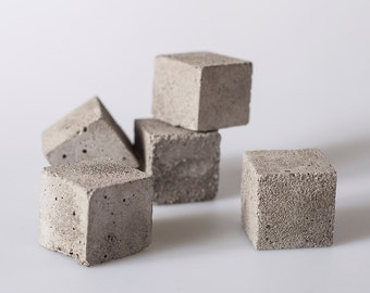 Cube Paperweight - Set of 5