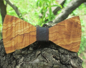 Papillon olive Burl wood