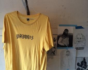 YADNUS Calligraphy Stencil print
