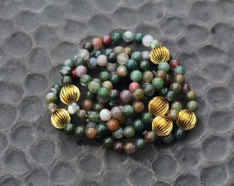 Green Multicolored Bracelet
