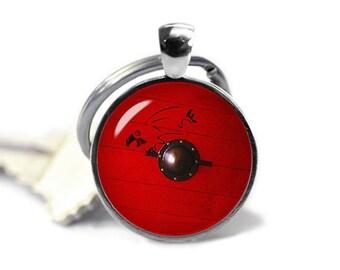 Vikings Ragnar Lothbrok Shield Key Ring Fandom Jewelry Key Chain Viking Warrior Maiden Key Fob Fangirl Fanboy