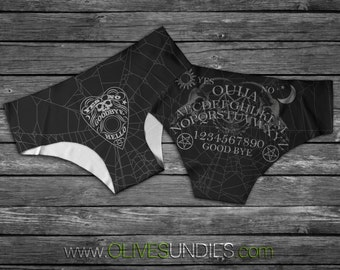 Ouija Board / Horror / Witch / WitchCraft /Wiccan Panties / Halloween Knickers