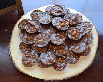 Homemade Gourmet Chocolate Pecan Caramel