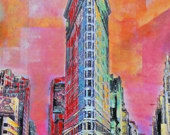 Flatiron Building Original Painting