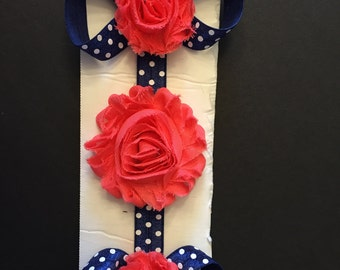Headband with matching sandals